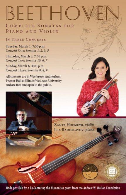 Complete sonata for piano and violin
