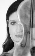 Zanta Hofmeyr - Gallery Photo - Violin Face-on - BW